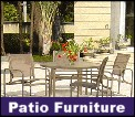 Wide selection, sling lounges, vinyl strap patio furniture