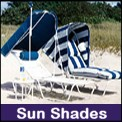 Sun Bimini Shades perfect for the pool, patio and the beach