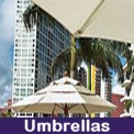 Market umbrellas, beach umbrellas and more